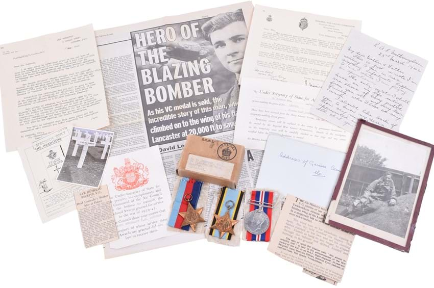 RAF Medal Group with History Relating to the Victoria Cross